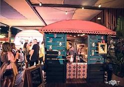 Comida y arte en Heart Ibiza