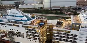 Así se corta en dos un buque: el proceso de alargamiento del Silver Spirit de Silversea
