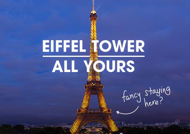 La Torre Eiffel puede ser suya