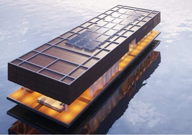 Waterlovt, casas flotantes de tecnología holandesa