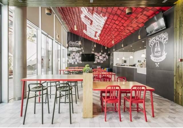 Las nuevas oficinas de coca cola espa a la sede m s for Oficinas de iberia en madrid