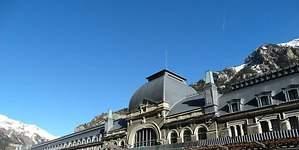 La estación de Canfranc, un hotel de lujo en 2021