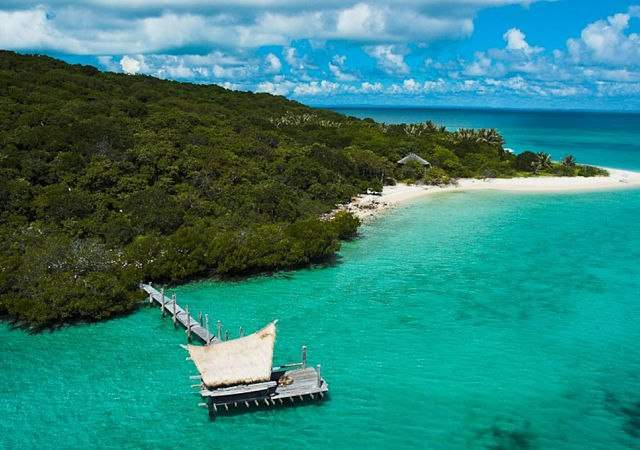 Una isla desierta para aventureros