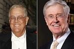 Los millonarios hermanos Koch