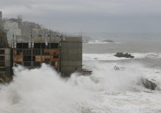 El hotel con vistas a un tsunami