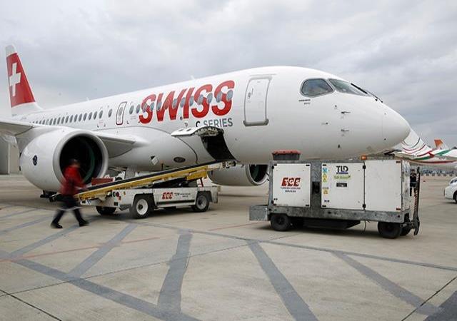 La flota de aviones Bombardier