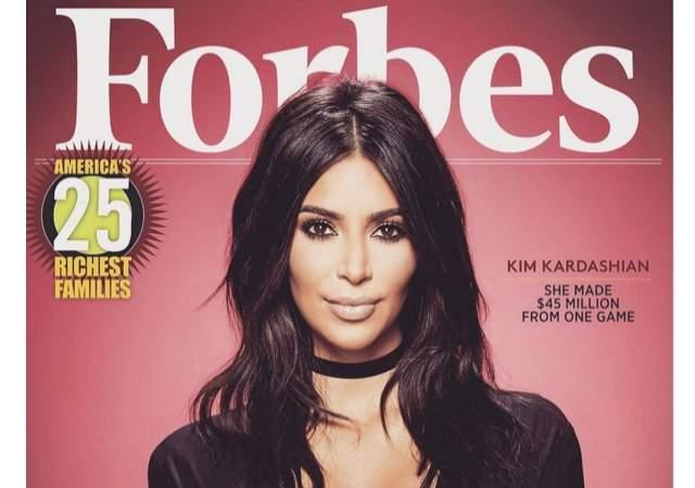 ¿Kardashian, portada de Forbes?