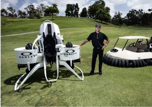 Carritos de golf voladores