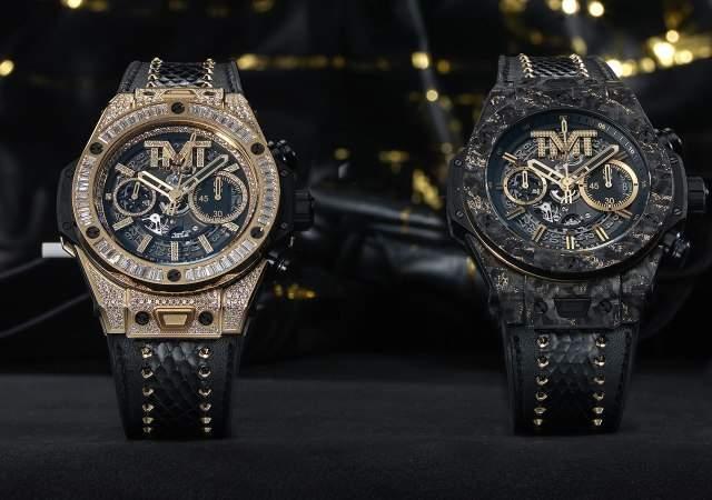 a05e501eff2 El nuevo reloj Hublot de Floyd Mayweather  95.750 euros ...