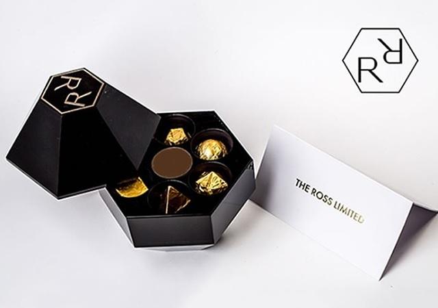 Chocolate y oro: el tándem perfecto