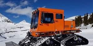 Una máquina de nieve de 125.000 dólares, el último juguete de los millonarios