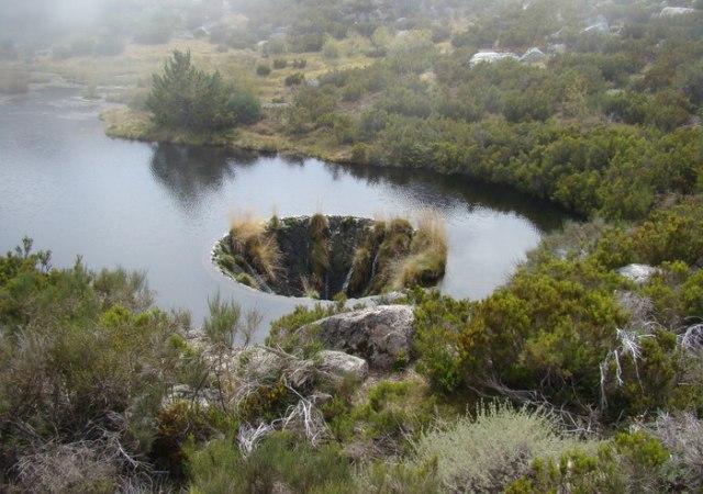 Misterioso agujero en Portugal