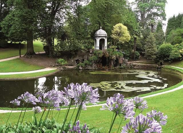Los retratos del prado visitan la fundaci n selgas fagalde for Jardines barrocos