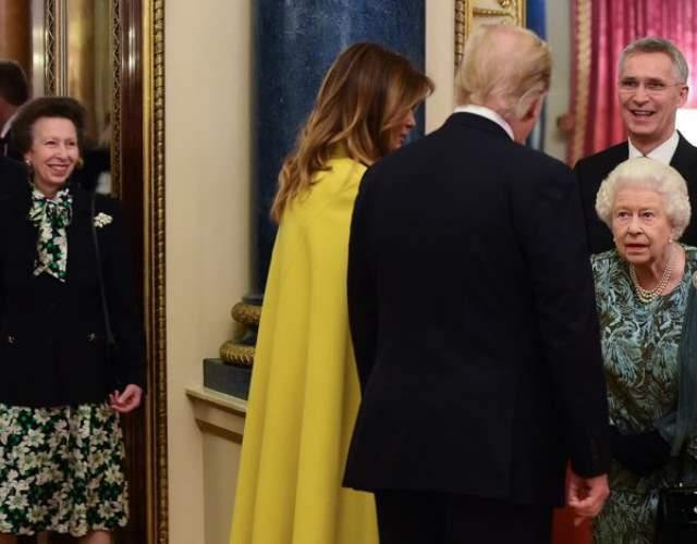 Que Paso Entre La Reina De Inglaterra Y Su Hija Ana Delante De Los Trump Informalia Es
