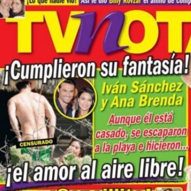 el semanario tvnotas ha sido el encargado de publicar las instantneas en las que la pareja no slo se abraza y besa con pasin sino que adems se