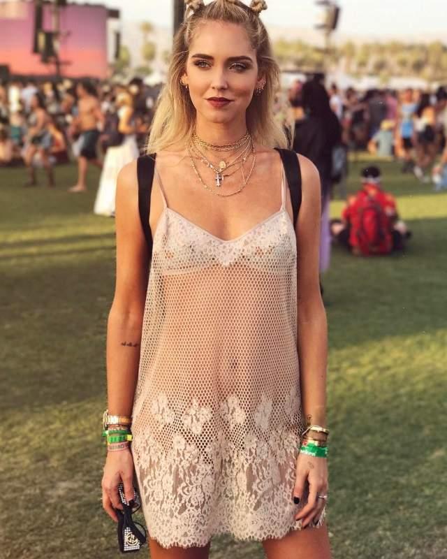 El Vestido Transparente De Chiara Ferragni Le Roba El Puesto Al