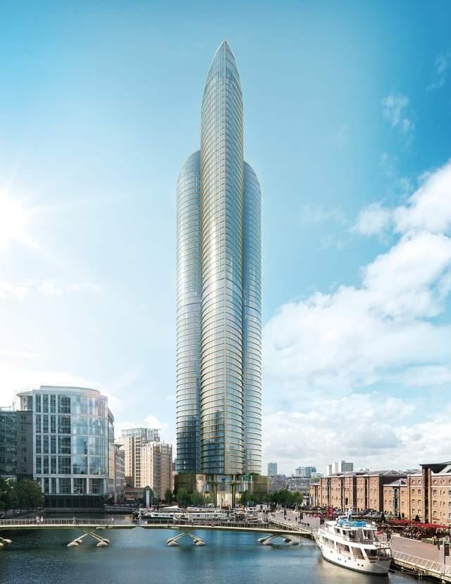 la promotora espera que la construccin de este rascacielos comience en y se complete en tres aos el lugar elegido para su es uno de