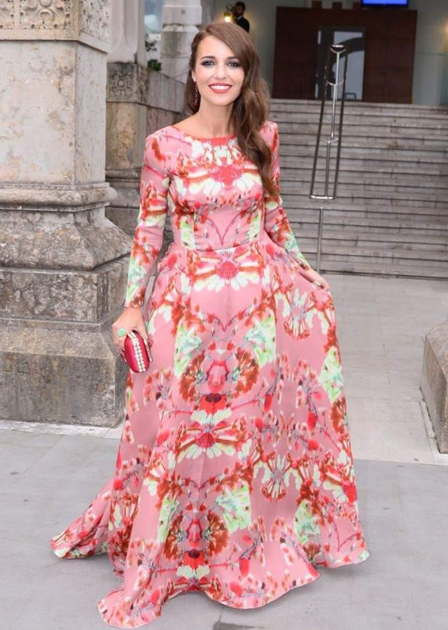Paula Echevarría, la invitada perfecta en la boda de Marta Hazas ...