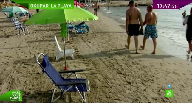 Adiós a reservar sitio en la playa