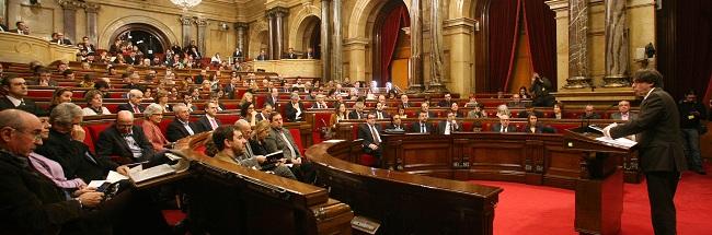 El TC suspende otras tres leyes del Parlamento catalán