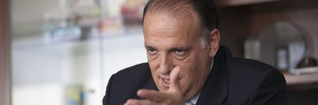 Javier Tebas: En La Liga no pasará lo de la Federación