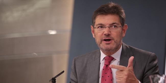 Catalá niega la privatización de la Justicia por la reforma