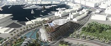 ARC Resorts propone invertir 1.000 millones en la Marina de Valencia