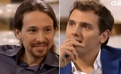 Iglesias y Rivera, juntos en Cuatro - 250x