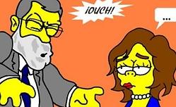 ¿Mariano Rajoy en Los Simpson?