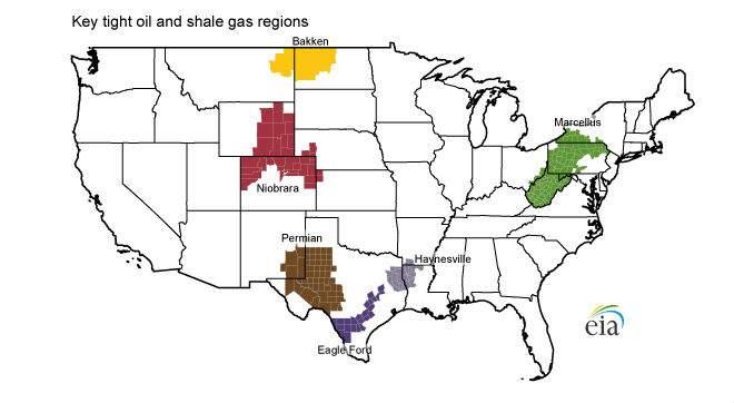 Energía. Producción, distribución. Cénit del petróleo, peak oil, fuentes, contradicciones, consecuencias. - Página 15 Regiones-fracking-usa