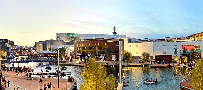 As ser n los centros comerciales del futuro - Centro comercial puerto venecia zaragoza ...
