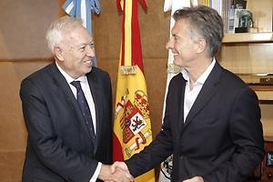 Margallo se reúne con Macri