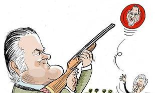 Bárcenas dispara contra Rajoy