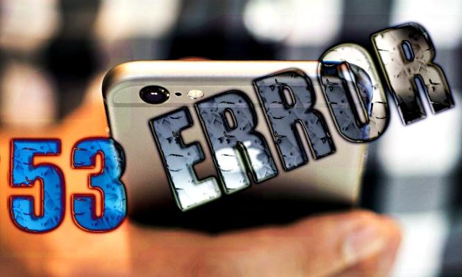 Error 53: Apple será demandada por dejar inservibles los iPhone no reparados de manera oficial