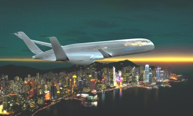 �C�mo ser�n los aviones del futuro?