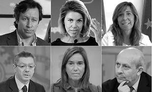 Los peones sacrificados por Rajoy