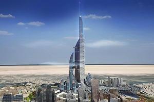 La ciudad vertical de 1.152 metros