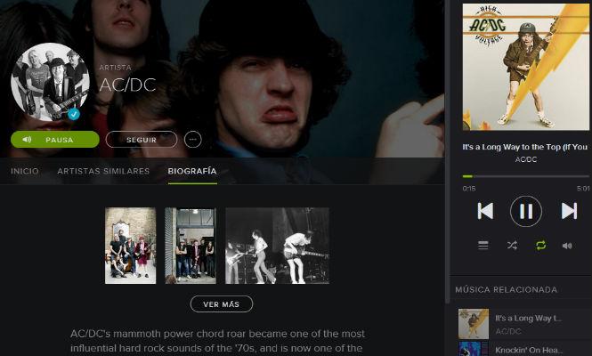 AC/DC INGRESAN EN LOS SERVICIOS DE STREAMING