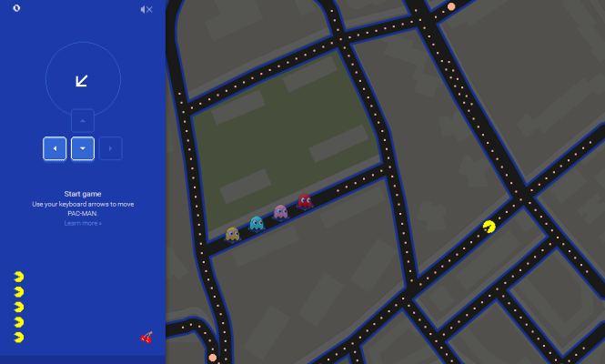 Google Maps Permite Jugar Al Pacman En Las Calles De Todo El Mundo