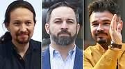 Abascal, con Iglesias y con Rufián: así será el nuevo reparto del hemiciclo