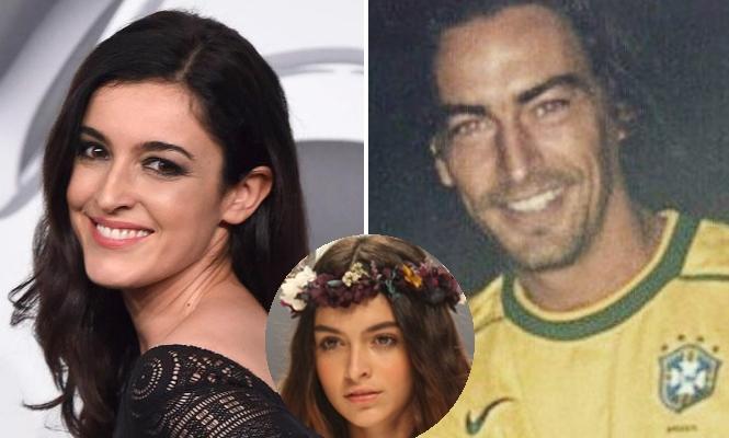 Blanca romero tuvo a su hija luc a con un modelo brit nico for Blanca romero foto padre de su hija