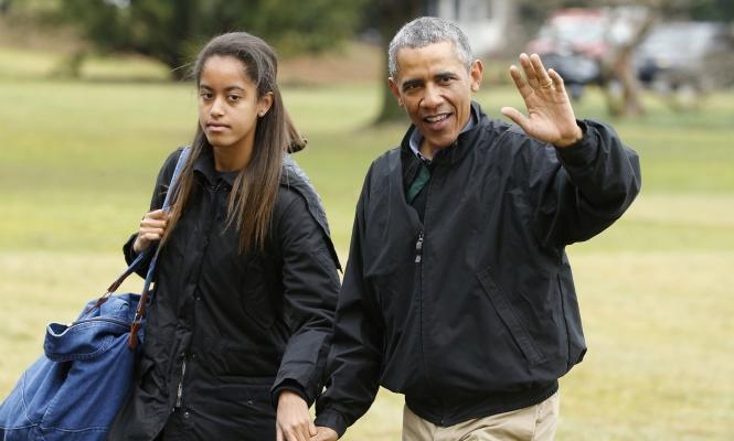 Piden la mano de Malia Obama - 310x