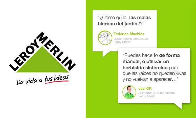 leroy merlin lanza su comunidad un espacio para compartir