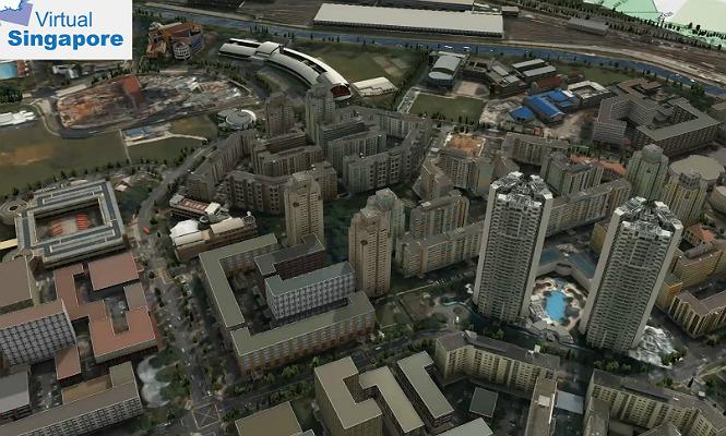 Singapur construye una maqueta virtual para preparse ante for Oficina virtual paro