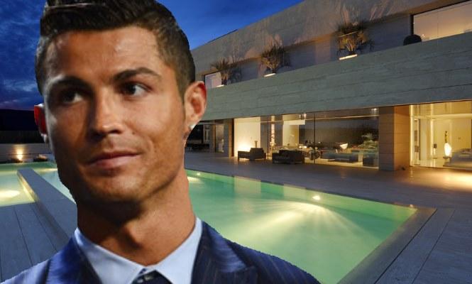 Cristiano ronaldo pone a la venta sus dos casas en madrid - Casa de cr7 en madrid ...