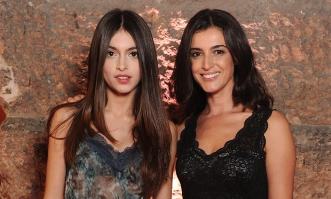 Blanca romero presume de hija modelo for Blanca romero y cayetano rivera