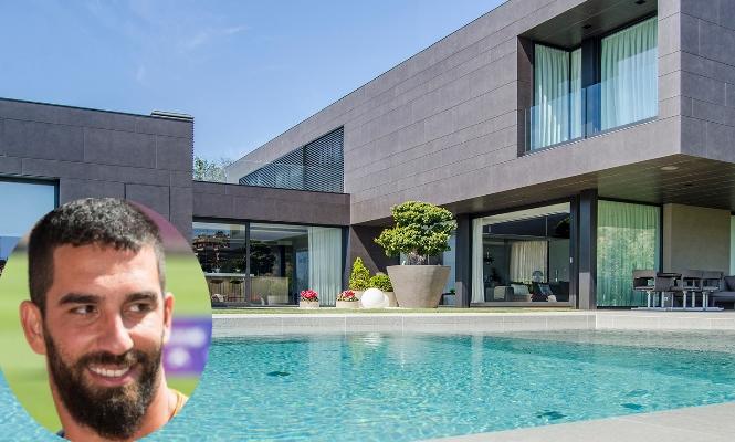 Arda Turan ya tiene casa en Barcelona por 21.000 euros mensuales ...