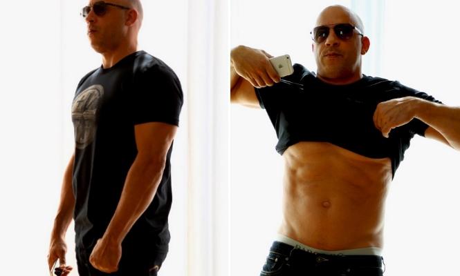 Vin Diesel luce tableta