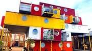Contenedores marítimos: viviendas recicladas a mitad de coste