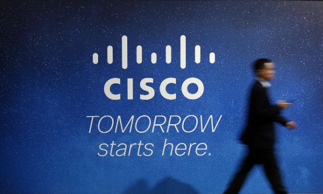 Cisco Systems gana 5.577 millones en su primer semestre, un 32% más